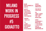 MILANO WORK IN PROGRESS #5 | Catalogo Mostra
