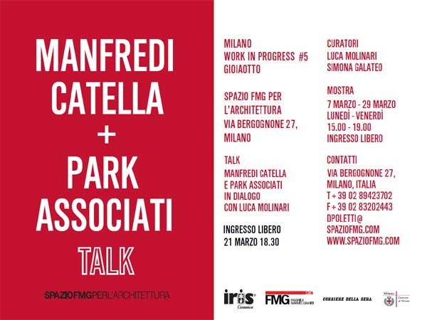 Manfredi Catella e Park Associati Talk