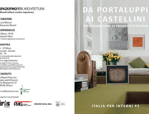 ITALIA PER INTERNI #3. FROM PORTALUPPI TO CASTELLINI – Three generations of interior design