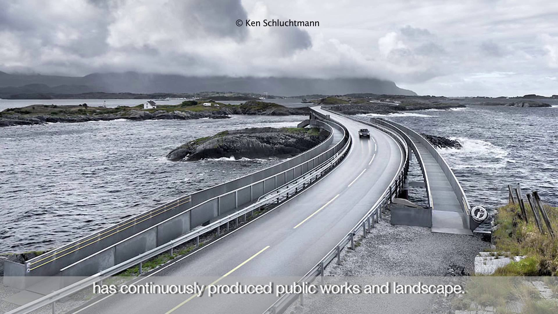 NORWAY ARCHITECTURE, INFRASTRUCTURE, LANDSCAPE. WITH PHOTOGRAPHS BY KEN SCHLUCHTMANN | Il Trailer