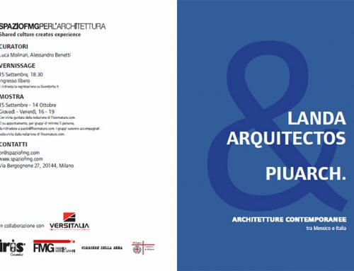 LANDA ARQUITECTOS & PIUARCH. CONTEMPORARY ARCHITECTURE IN MEXICO AND ITALY