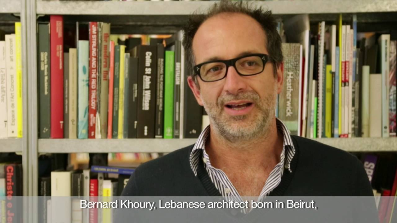 BERNARD KHOURY. IN ORDER OF APPEARANCE | Il Trailer